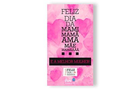 Postais de parabéns para enviar no Dia da Mãe – Para mim